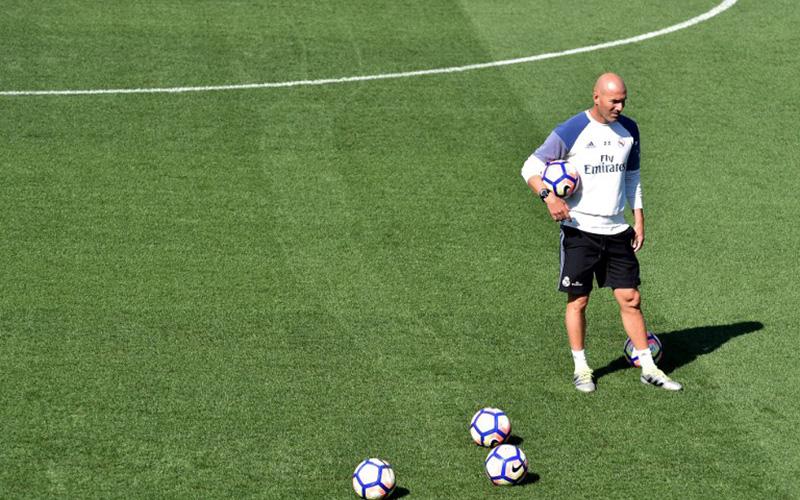 Zidane Akui Sulit Memilih Susunan Pemain Inti Real Madrid