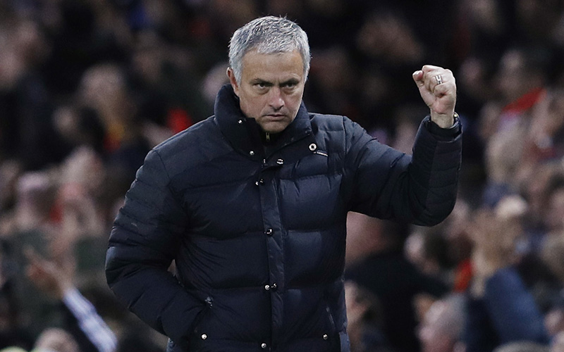 Mourinho Bersyukur Dapat Bawa Man United Menang di Old Trafford